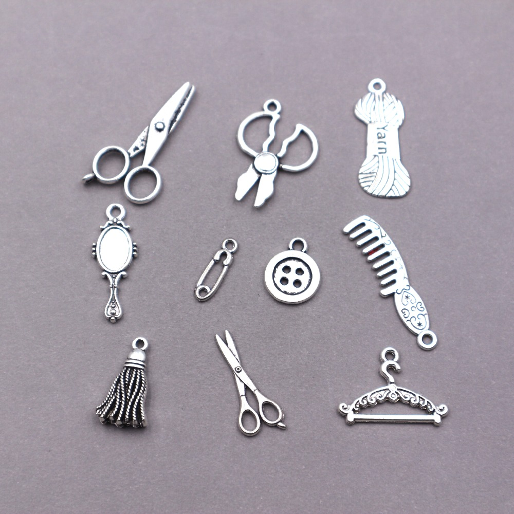 50pcs//Lot Alloy Snowflake Charms Jewelry Making Pendant Findings Silve NEW