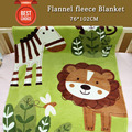 High Quality Flannel Baby fleece Blanket Children Blanket Super Soft And Comfortable, Size 76*102CM