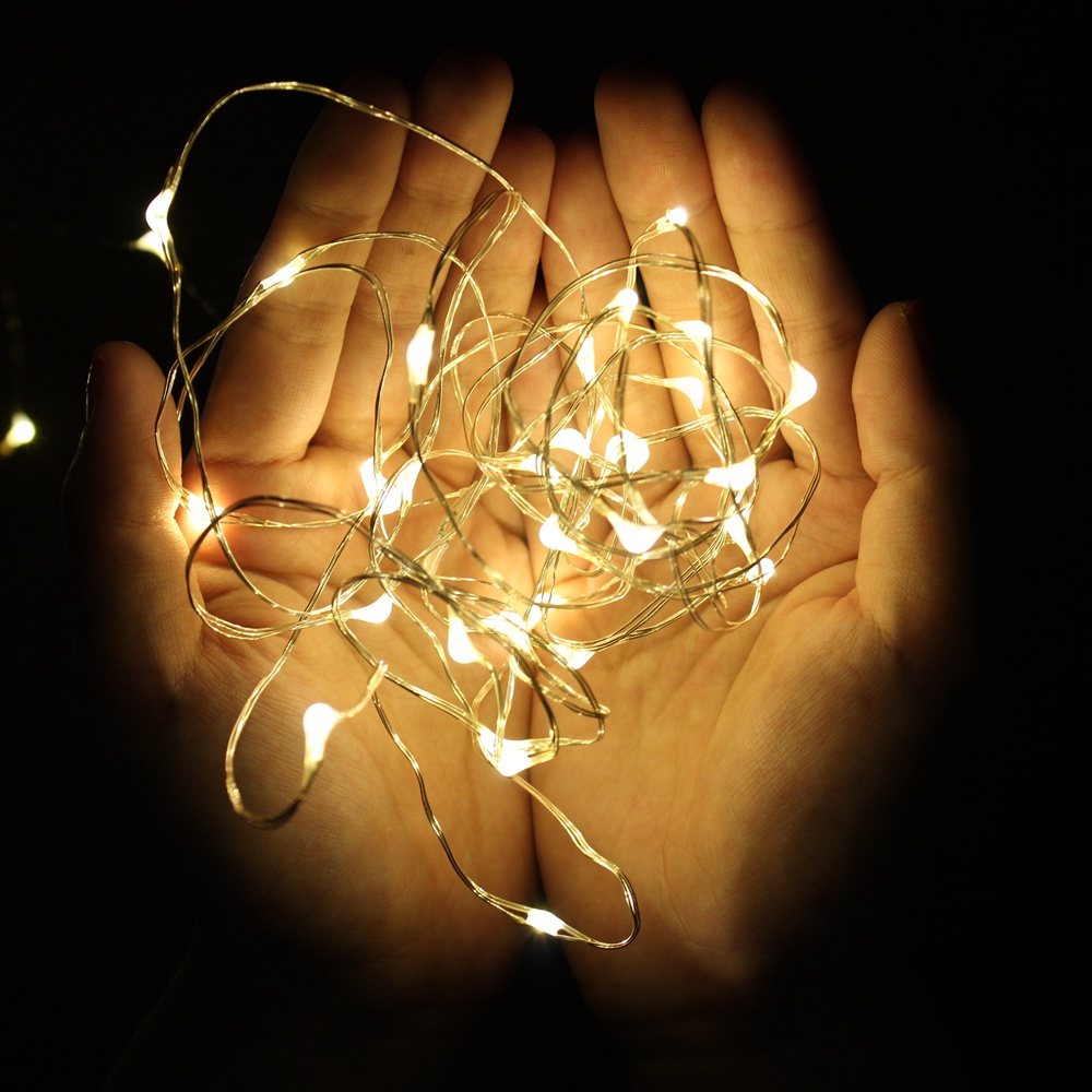 1M 2M 5M 10M 20M Fairy Lights Copper Wire LED String lights Holiday lighting For Christmas Tree Garland Wedding Party Decoration