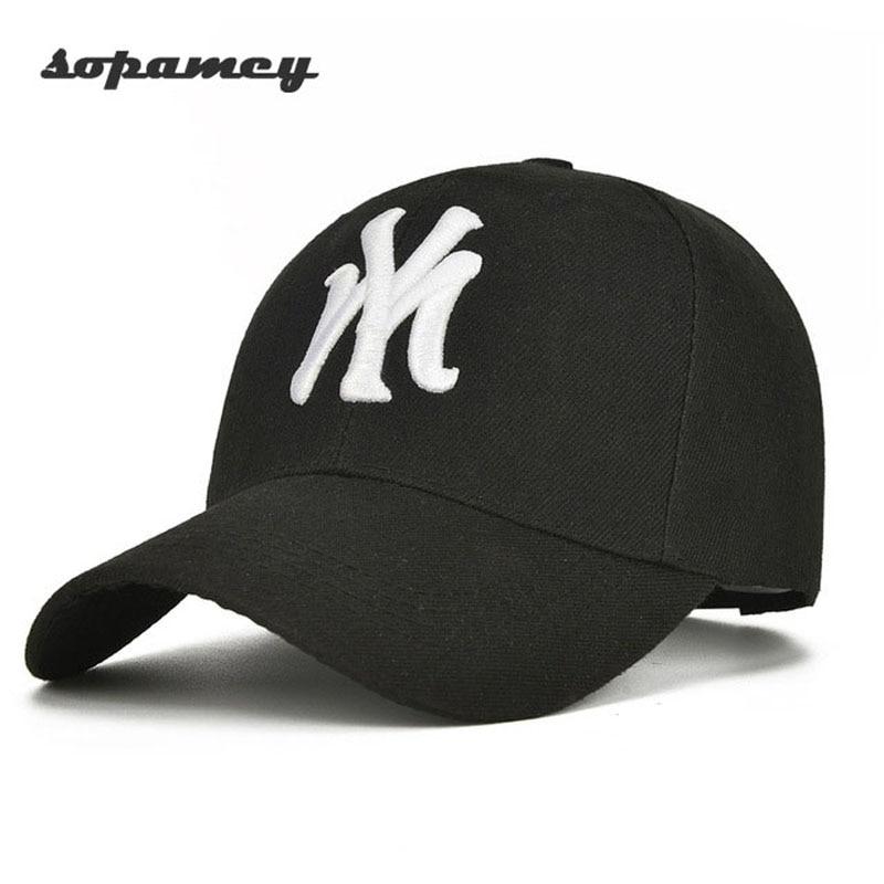 Unisex Cotton   Baseball     Cap   NY Men&Women Snapback Cool Sun Hat Letter Adjustable Casquette Bone   Cap   Male Sport Bone Gorras   Cap
