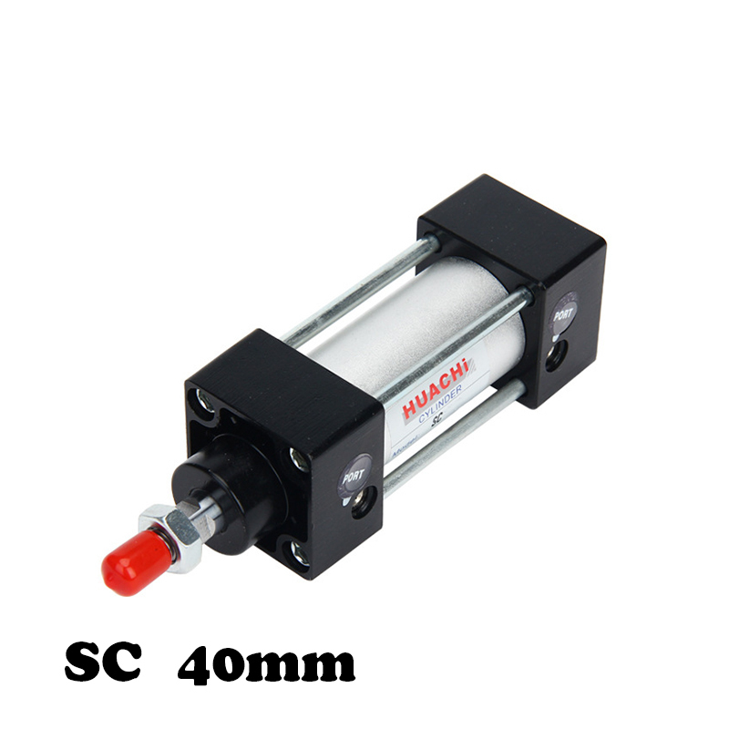 Free shipping  SC series SC40 cylinder Quality production of large number of pneumatic components standard cylinderFree shipping  SC series SC40 cylinder Quality production of large number of pneumatic components standard cylinder
