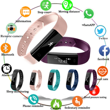 2019 умный браслет счетчик шагов смарт-браслет для фитнеса будильник Вибрационный браслет pk ID107 fit bit miband2 часы сердце pk M2 Y5