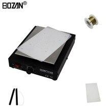 BOZAN 918B 7 дюймов Отопление термостат пластина ЖК-дисплей Экран открытый сепаратор паяльная станция для iPhone samsung телефон ремонт