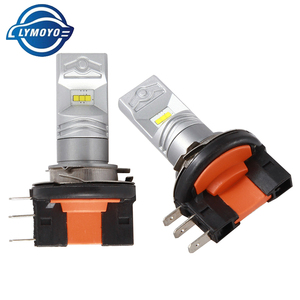 Image 2 - LYMOYO Car H15 with CSP chip 6SMD drl LED auto Fog Lamp Daytime Running Light Turning Bulb Headlight For Audi BMW Mercedes DC12V