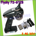 Wholesale 1pcs Flysky FS GT2B 2.4G 3CH Gun RC Transmitter & Receiver W/ TX battery + USB Cable Charger for helicopter boat