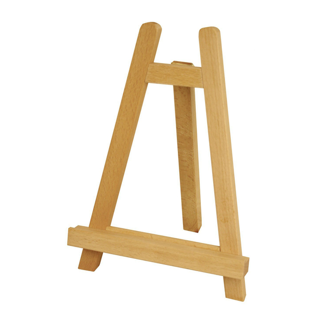 wood a frame mini table easels 11inch triangle easel foldable