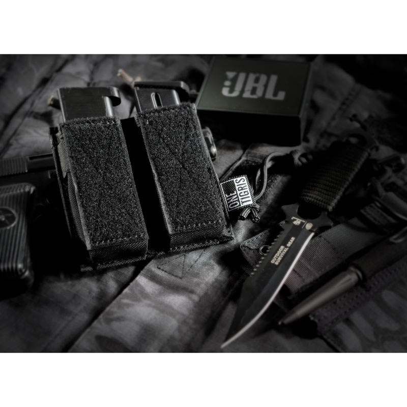 OneTigris Tactical Single Pistol Mag Pouch Handgun <font><b>Magazine</b></font> Pouch For GLOCK, M1911, 92F, 40mm grenades, etc.