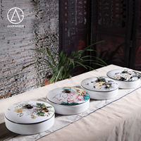 Goofanser zen herbaty ciasto jar pudełko wysokiej jakości ochrony środowiska ceramicznych puli lotosu pu 'er herbaty ciasto