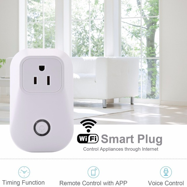 WIFI socket EU/US/UK plug remote control Adapter wireless smart ...