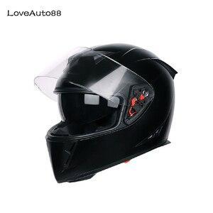 Image 1 - Motorcycle Helmet Full Face Motorbike Helmet Safe Racing helmet Motorcycle Helmet For Woman/Man DOT Approved