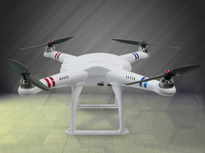 FreeX with 7CH Transmitter GPS Drone RC Quadcopter RTF 2.4Ghz