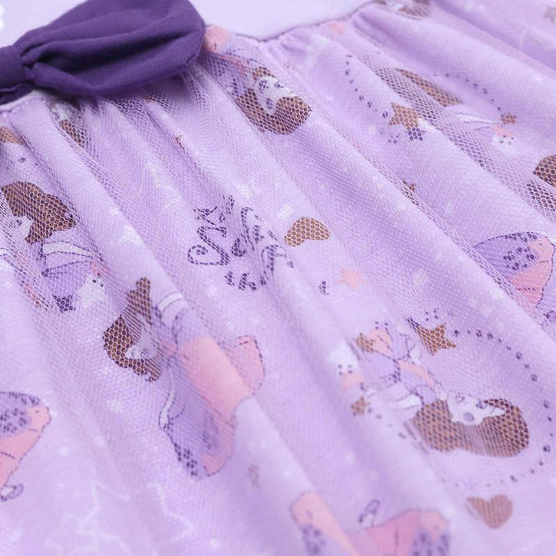 Летнее платье принцессы для девочек; детское праздничное платье; детское платье; одежда