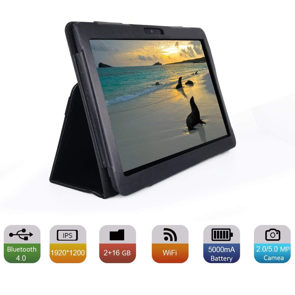Russian Warehouse Ship Andriod 7.0 10.1 Inch Tablet Pc Wifi Bluetooth Ips 1920x1200 Touch Screen 2gb Ram +32gb Rom Dual Camera #2