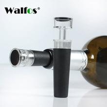 WALFOS czerwone wino butelka szampana Preserver korek pompy powietrza uszczelnione próżniowo SaverWine korek próżniowy wino próżniowa pompa powietrzna uszczelniacz