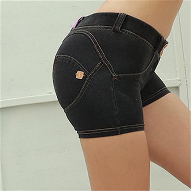 High Elastic Slim Beauty Hip Shorts
