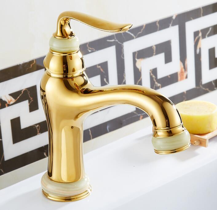 luxury golden/antique brass faucet bathroom faucets single handle cold hot water tap mixer basin faucet bathroom golden dual handle taps washbasin sink faucets hot and cold water mixer faucet