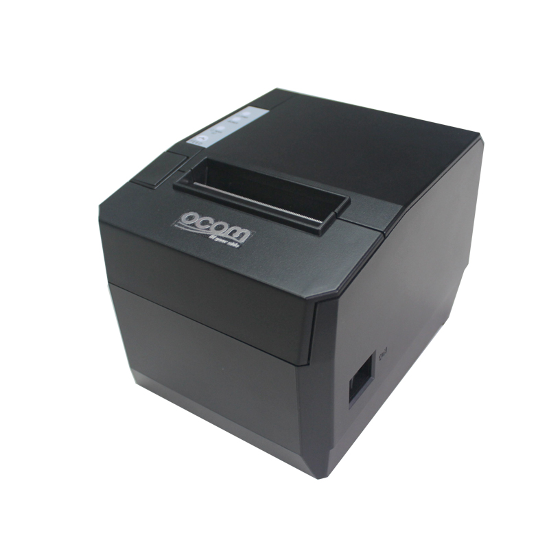 OCPP-88A(USB+Lan): Shenzhen Hotel Bill Thermal POS Receipt Printer serial port best price 80mm desktop direct thermal printer for bill ticket receipt ocpp 802