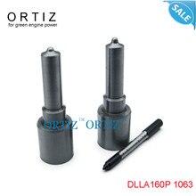 ORTIZ bosh injector DLLA160P 1063, DLLA 160 P1063 bicos ferroviário comum, DLLA160 P 1063, acessórios do carro