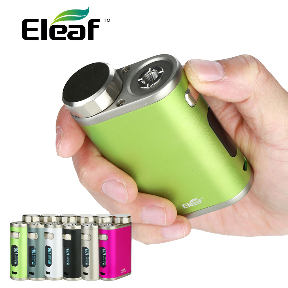 Clearance 100W Eleaf IStick Pico 21700 TC Box MOD 2A Quick Charging & 0.91-inch Display Fit Ello Tank No 18650 Battery Vape Mods