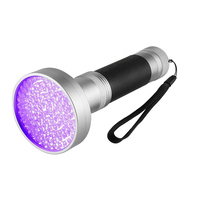 UV LED flashlight Torch flashlight UV lamp AA battery 100 F5 395NM violet LED for Detecting Marker Checker No