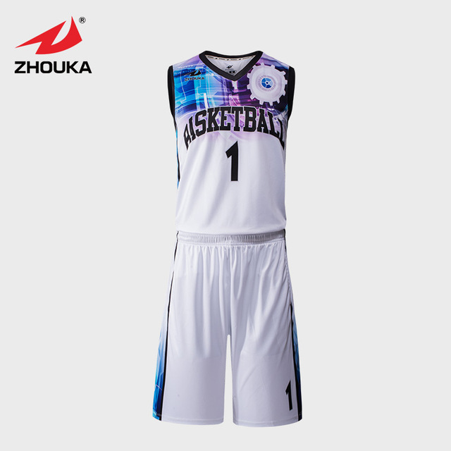 3545f7e2 Sublimation Printing Basketball Jersey Uniform Customizing Whole Design  Basketball Jerseys Top quality basketball Clothes Set