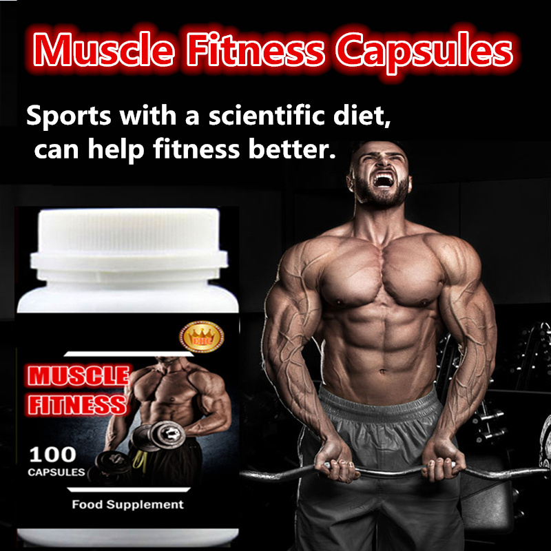 6 bottle 600PCS, Muscle Fitness Fast and Easy Add Muscle and Weight Gainer,Whey Protein + Creatine,Amazing Effect and Price ...