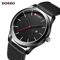 Mens Watches Top Brand Luxury Simple Watches Men DOOBO Fashion Clock Dress Men S Quartz Watch