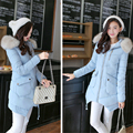 Winter Jacket Women Fur Collar Hooded Jacket Coat For Women Outwear Parka Coat De Inverno Feminino