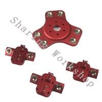 4pcs Reprap Delta kossel k800 magnetic effector and magnetic carriage kit full metal for diy 3D printer