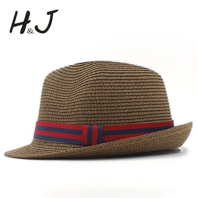 Moda mujer hombres verano Sol sombrero para la señora elegante playa  sombrero Sol Caballero sombrero Panamá 1a6924c0e6b