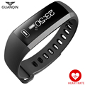GUANQIN Smart Bracelet Band Heartrate Blood Pressure Oxygen Oximeter Sport Bracelet Watch Intelligent For IOS Android R5plus