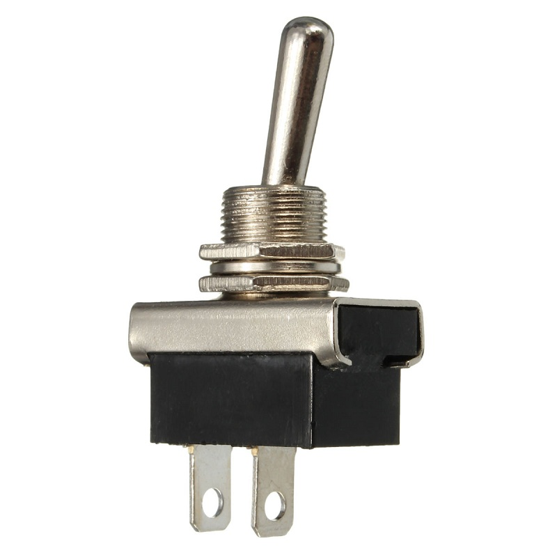 Newest New 1PCs Two Terminal Heavy Duty Metal Toggle Switches ON/OFF Kit Classic Car 12V 25AMP Low Price