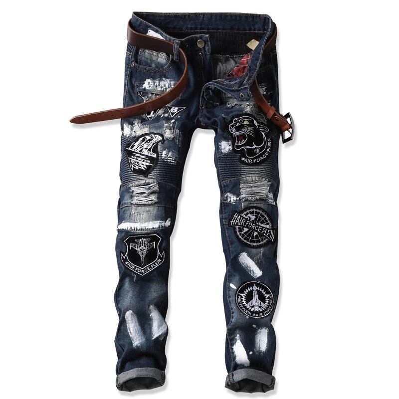 New Japan Style Slim Fit Denim Jeans Men Casual Skinny Pants Harem Hip Hop Mens Tapered Jeans Long Trousers Blue dsel designer men jeans slim fit straight denim thin stretch mens skinny biker jeans casual pants hip hop denim trousers