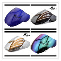 6 Color For CBR600 F4 1999 2000 Aftermarket  Airflow Double Bubble DB PC plastic Motorcycle Windshield Windscreen
