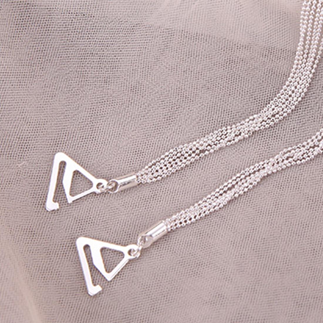 Tassel Metal Shoulder Strap Shoulder Underwear Bra Dress Decor Straps 8C