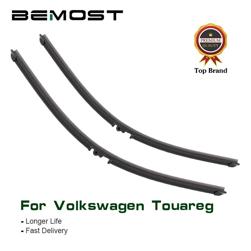 BEMOST Car Wiper Blades Rubber For Volkswagen Touareg 2003