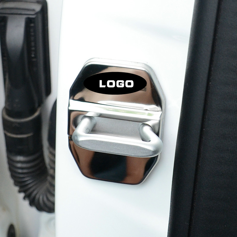 Car Door Lock Car-styling Cover fit for AMG E-series C-series M ML-series B-series SLK GLK accessories Car styling