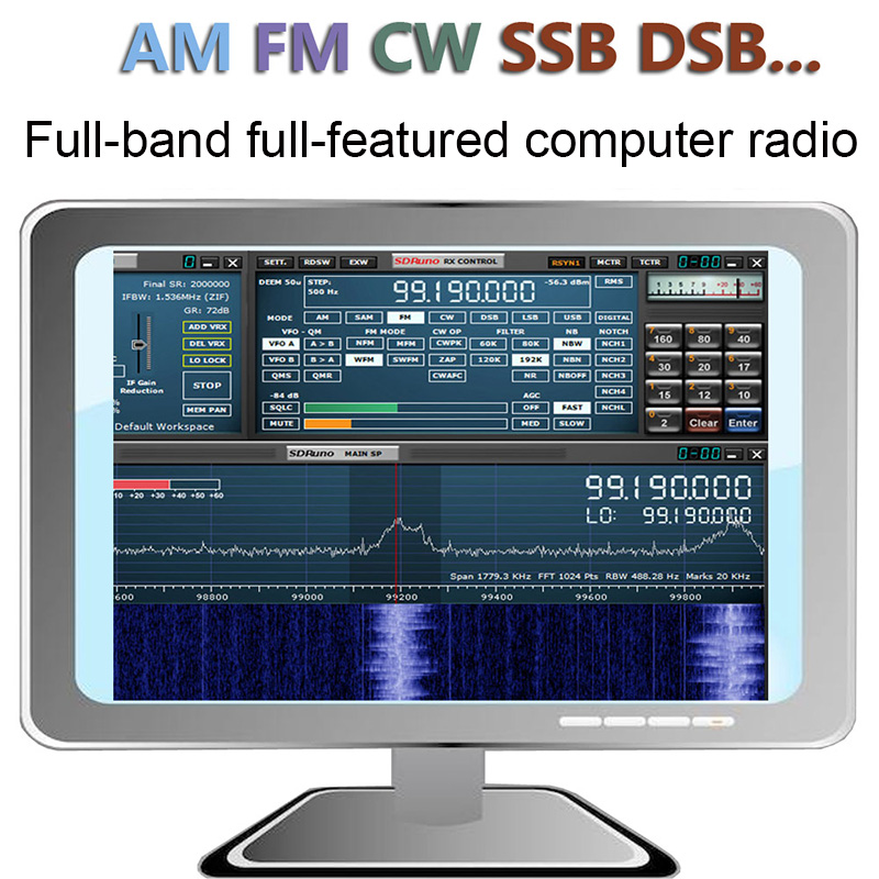 SDRPLAY RSP1 | 12Bit ADC SDR Radio | SDRPlay