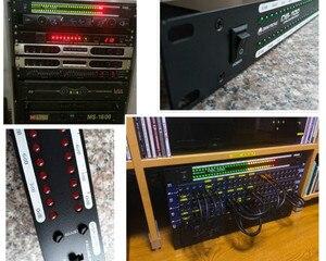 Image 5 - Профессиональный домашний усилитель GHXAMP для сцены, динамик с двойным 40 спектром, звуковой светодиодный стерео индикатор уровня 57дб 0дб