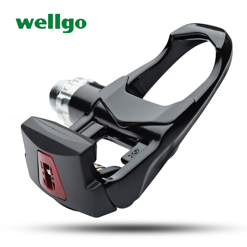 wellgo road bike pedals aluminium bearing ultralight 270g bicycle pedals clipless with look keo cleats cycling