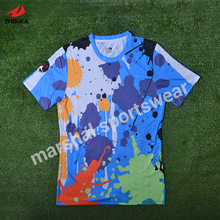 OEM any design sublimation men's football team jersey personality customization sportswear