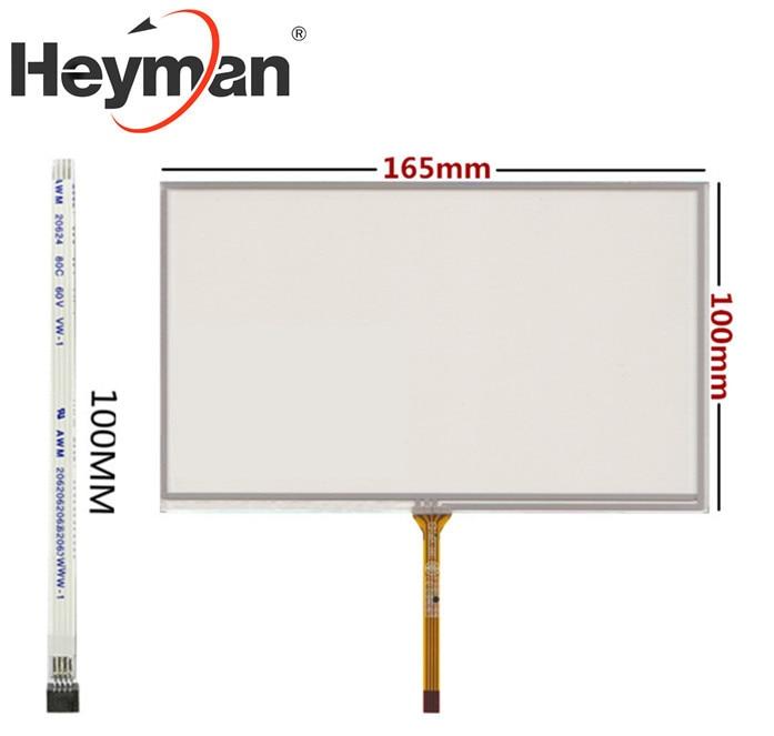 Heyman 7 pulgadas AT070TN92 AT070TN90 AT070TN93 AT070TN94 HSD070IDW1-D00 A20 A21 resistencia pantalla panel de pantalla táctil