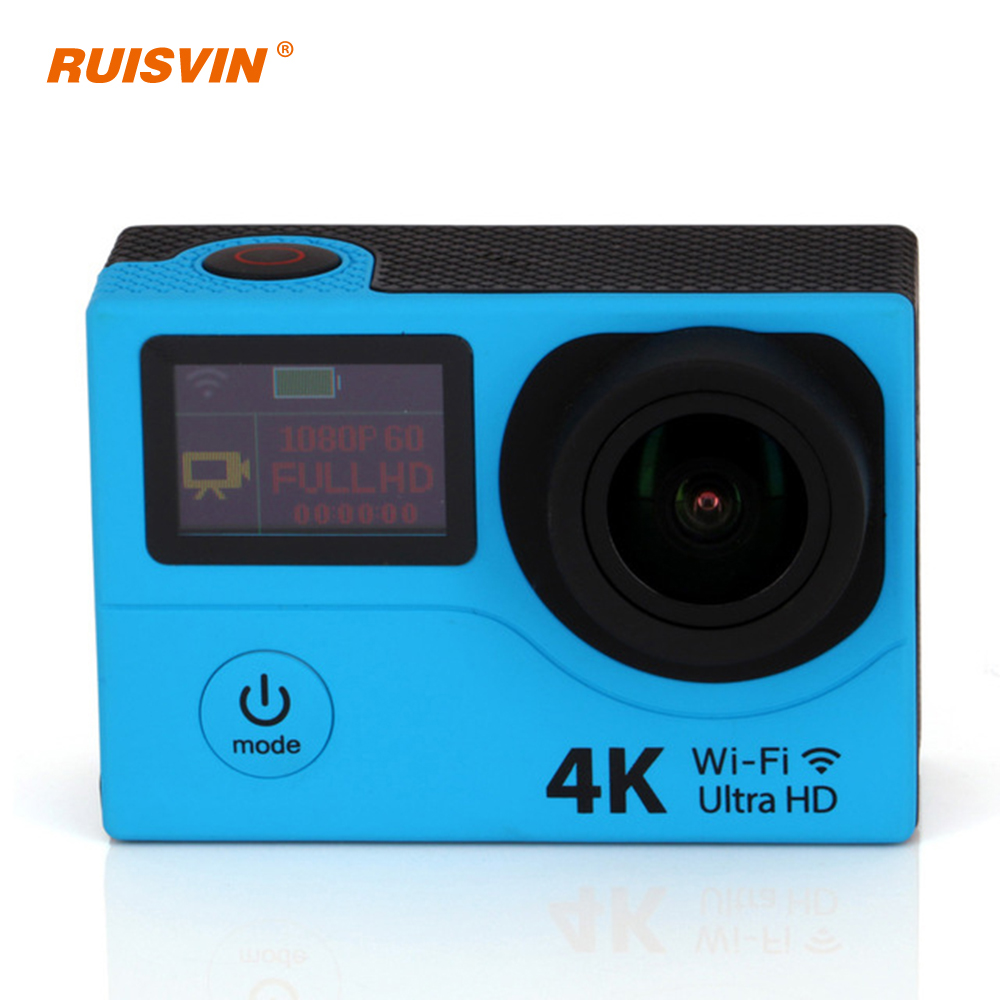 2016 Hot 4K Cam H3R Wifi Extreme Sport Remote Camera Dual Screen Waterproof Action Camera 1080P Full HD Sport DV Camcorder