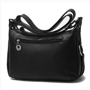 Image 4 - สุภาพสตรีHobos Crossbodyกระเป๋าผู้หญิงMessengerกระเป๋านุ่มล้างPUหนังกระเป๋าสะพายกระเป๋าหญิงกระเป๋าซิปตกแต่ง