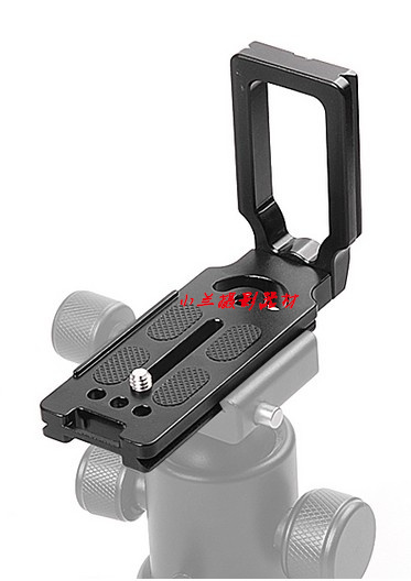 10PCS MPU-105 L Shape 1/4 Quick Release Plate Bracket For 1200d 650d 700d 750d 760d 60d 70d 5d2 6d 7d Camera Arca-Swiss Tripod