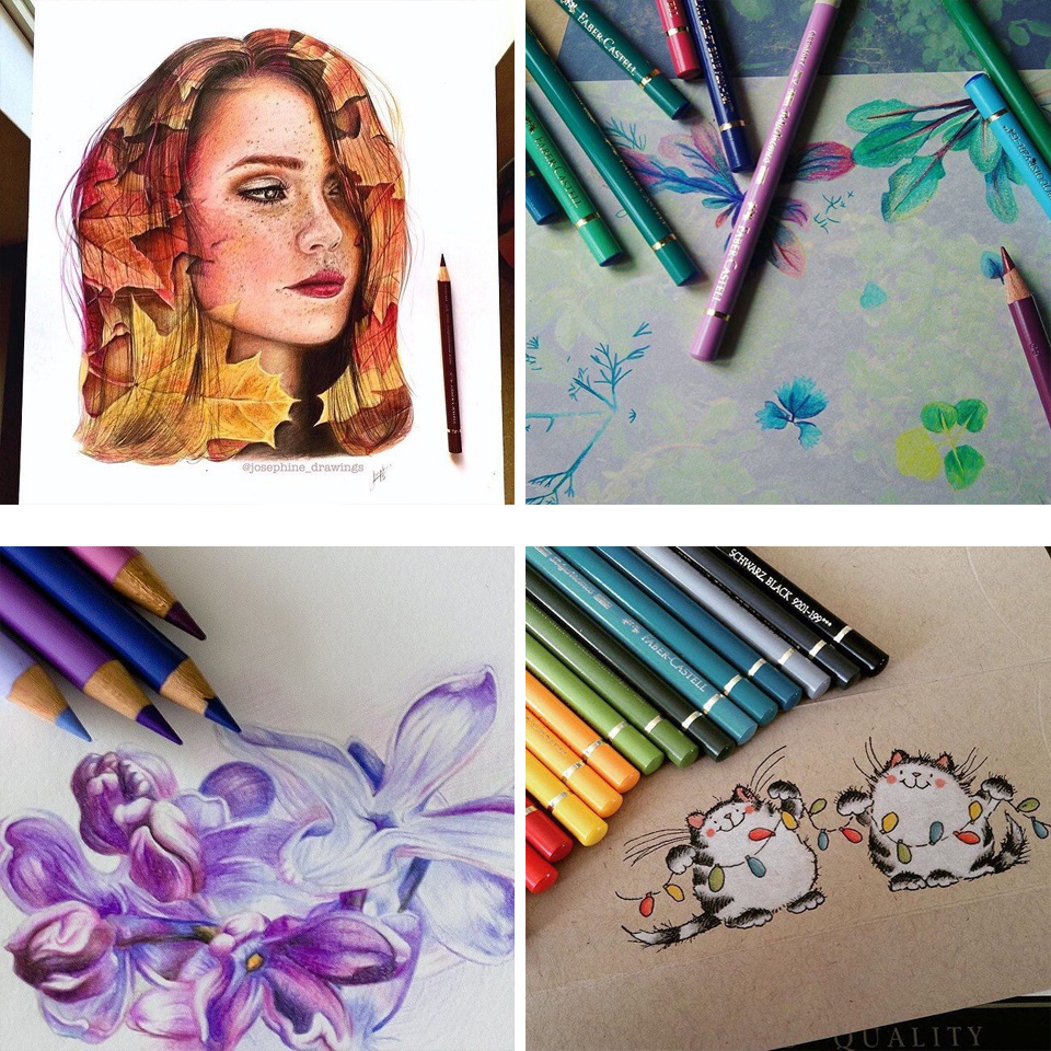 Faber Castell Polychromos Colour Artists/' Pencils