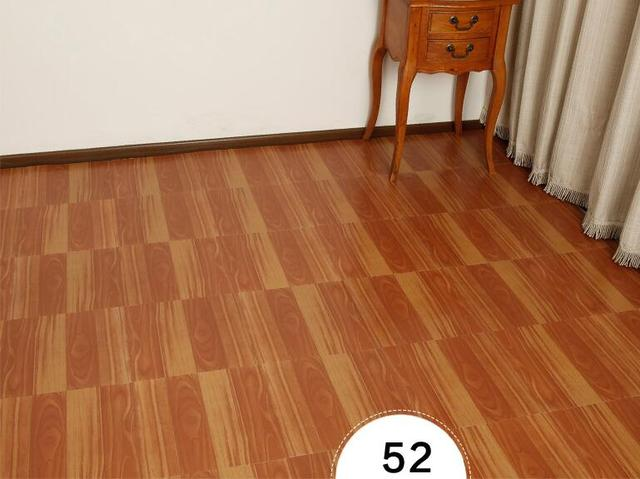 PVC Self Adhesive Plastic Floor Stickers Affixed Environmental Sheet Carpet 3d Tile Wallpaper