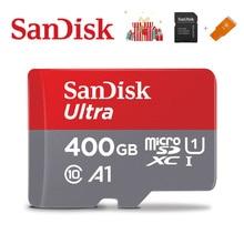 SanDisk carte mémoire A1, 400 go, 256 go, 200 go, 128 go, 64 go, 98 MB/S, 32 go, Micro carte sd de classe 10 UHS 3, carte flash, cartes Microsd TFSD