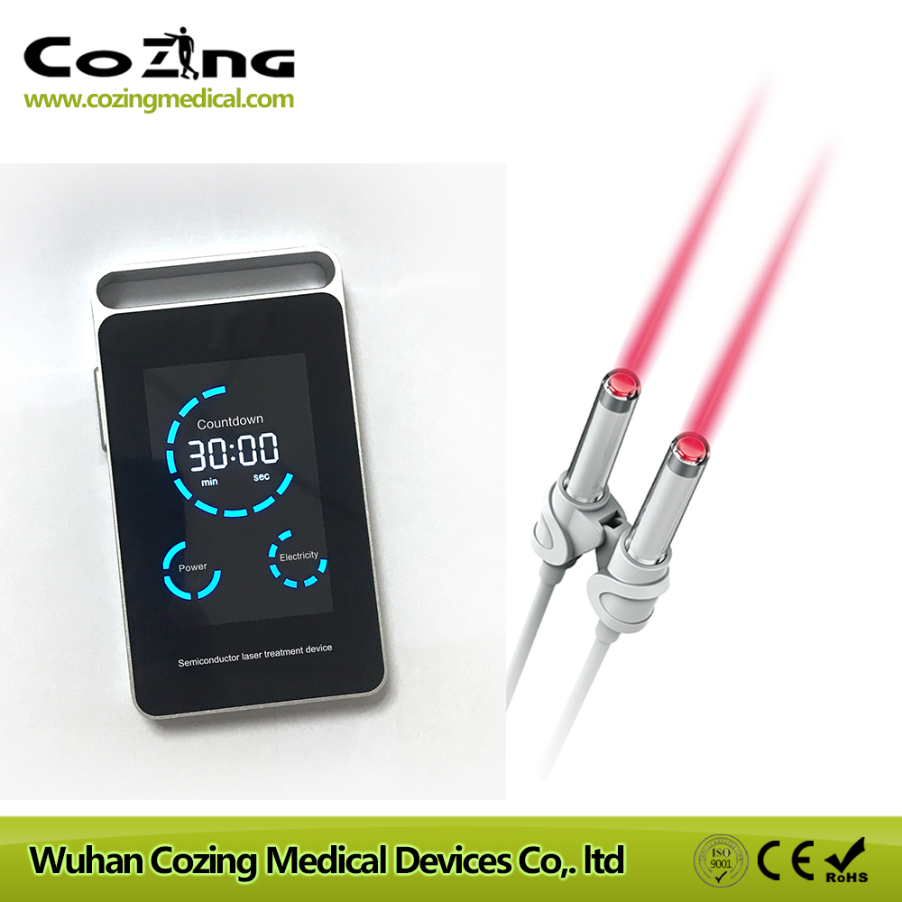 COZING home care medical device allergic , acute , chronic rhinitis treatment with 650nm low level laser therapy appratus bioelectric therapy device treatment acute prostatitis symptoms