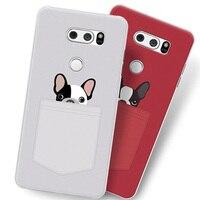 2 adet Telefon Kılıfı Için LG V30 Durumda H930 H933 kılıf kapak Sevimli karikatür Boyama sert Arka Kapak Için LG V 30 Vaka Ultra ince kabuk